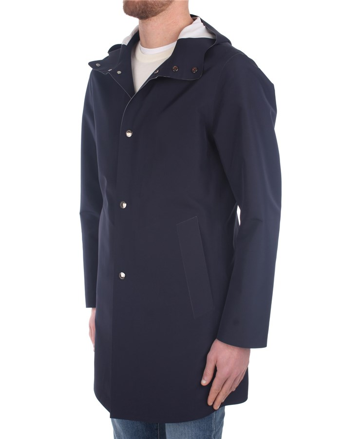 Kired raincoats Blue