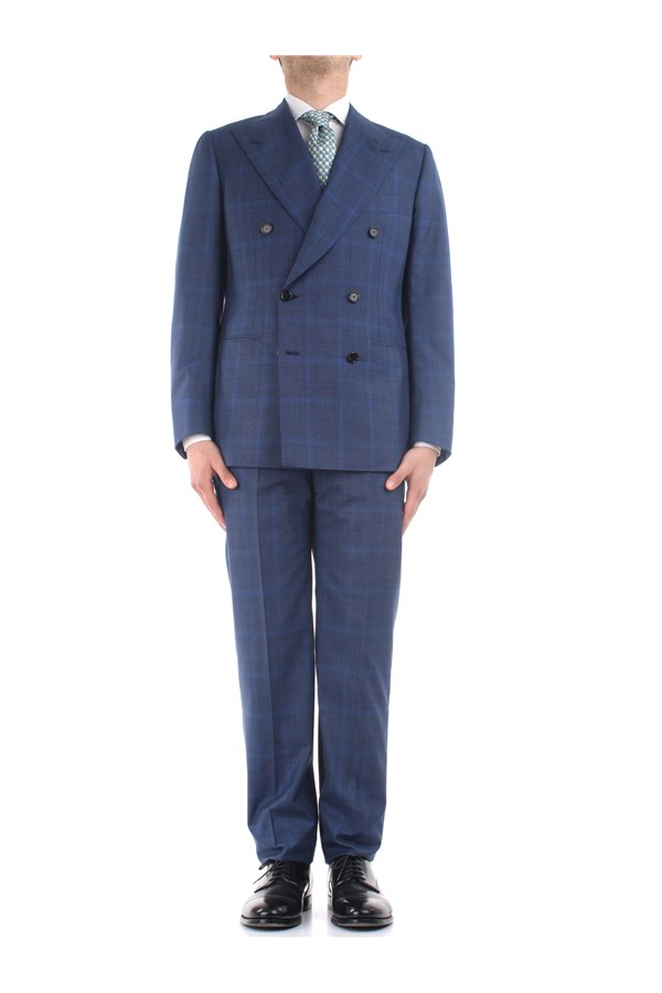 Cesare Attolini Clothes Blue