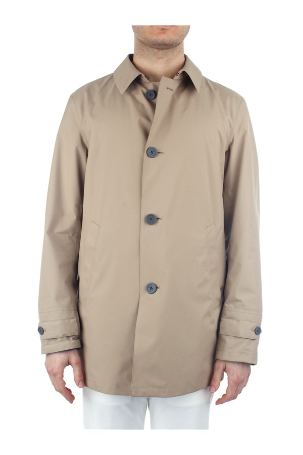 Herno raincoats Beige