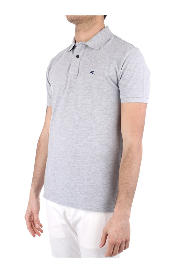 Etro Polo shirt Grey