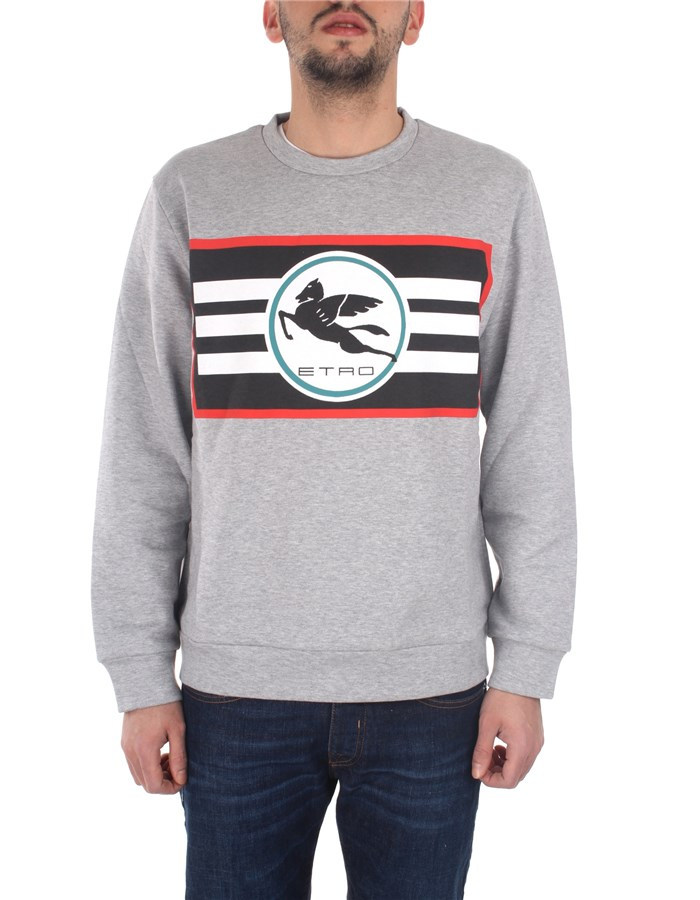 Etro Sweatshirts Grey