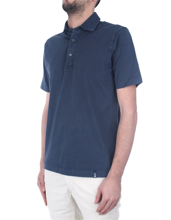 Drumohr Polo shirt Blue