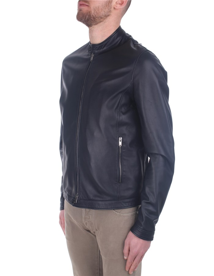 Tagliatore Jackets And Jackets Blue