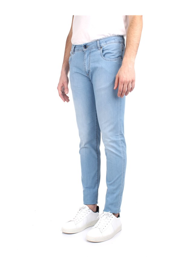 Camouflage Jeans Blue