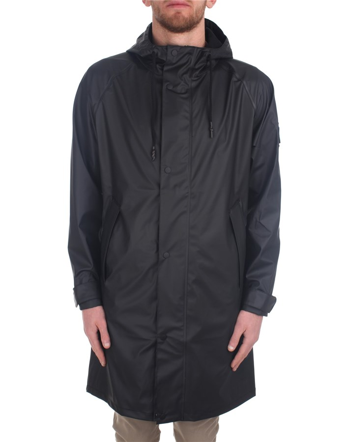 Stutterheim raincoats Black