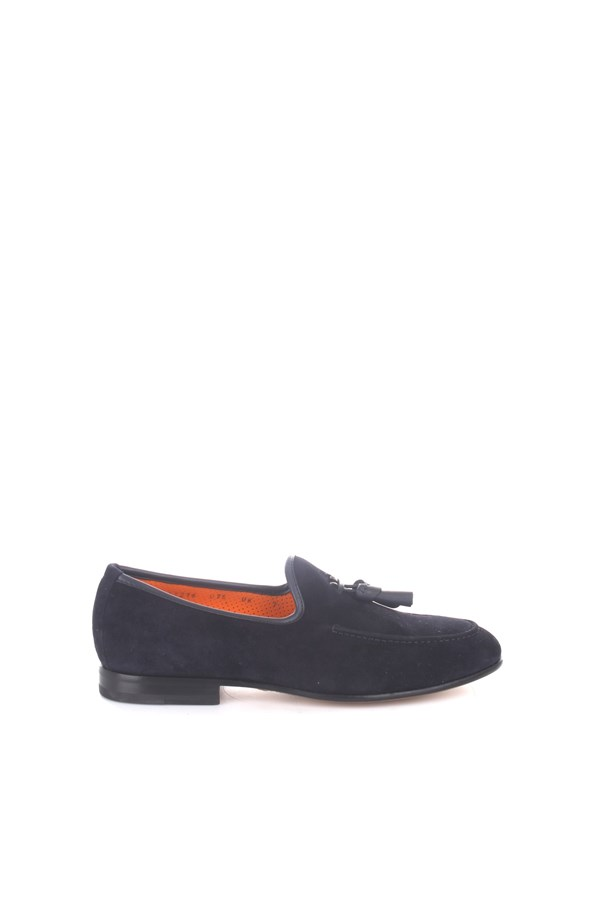 Santoni Loafers Blue