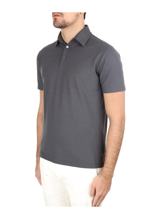 Zanone Polo shirt Grey