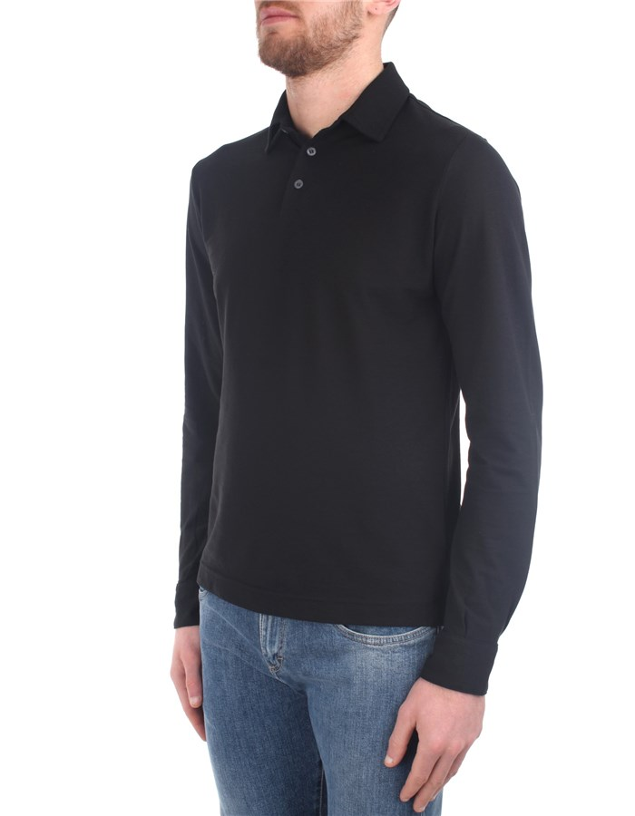 Zanone Polo shirt Black