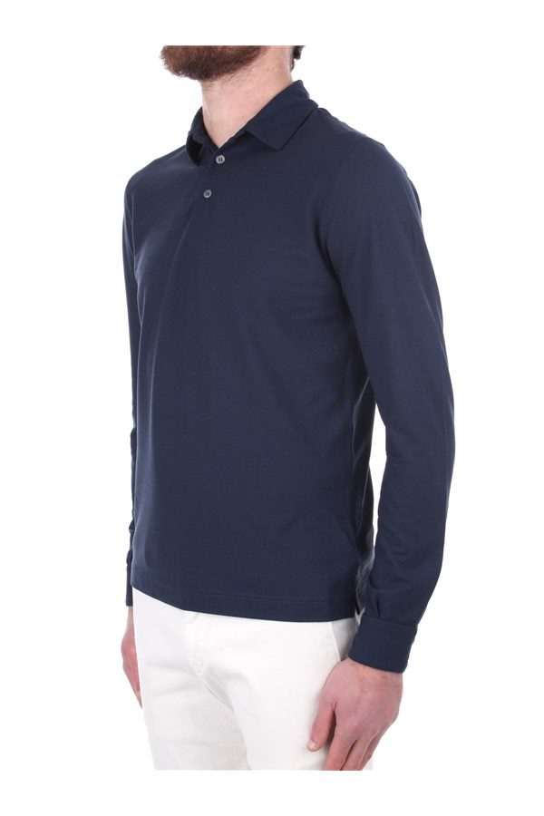 Zanone Polo shirt Blue
