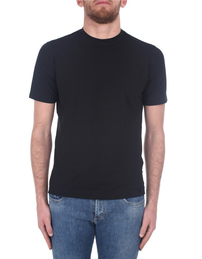 Zanone Short sleeve Black