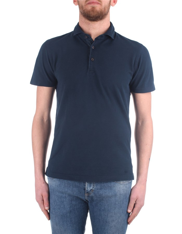 Barba Polo shirt Blue
