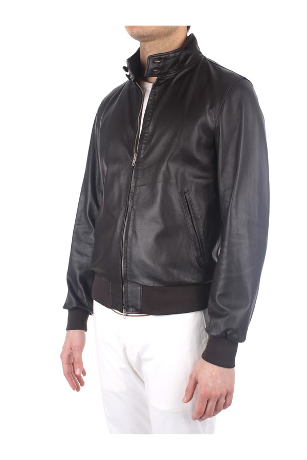 Broos Outerwear Leather Jackets Man U10M0011 1