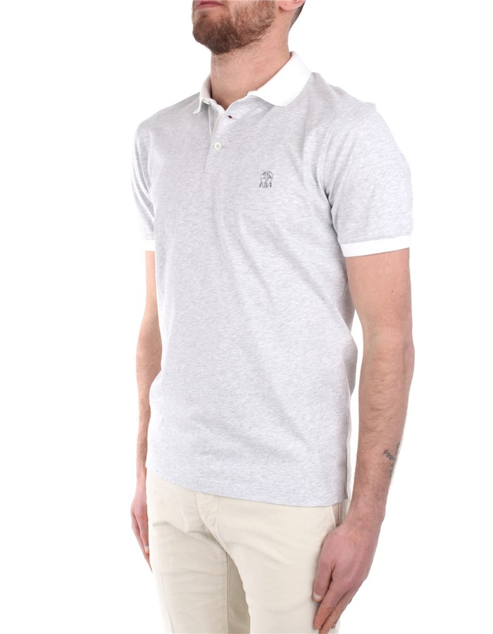 Brunello Cucinelli Polo shirt Grey