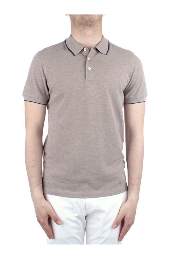 Brunello Cucinelli Polo shirt Brown
