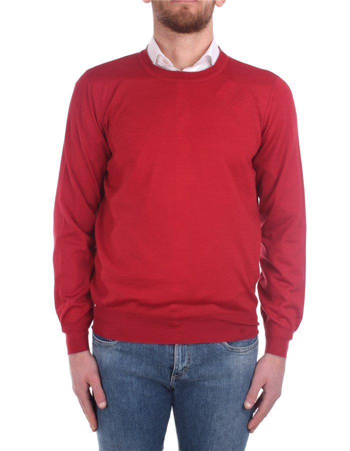 Brunello Cucinelli Sweaters M2400100 Red