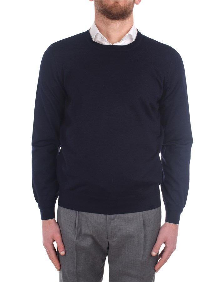 Brunello Cucinelli Sweaters M2400100 Blue
