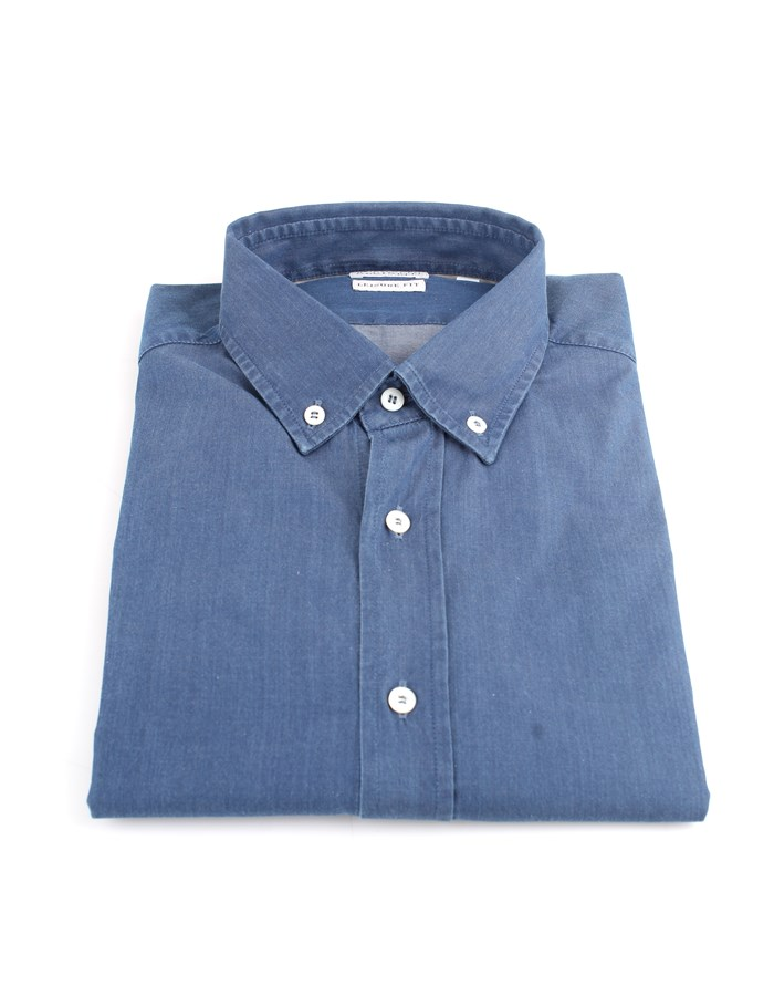 Brunello Cucinelli Shirts Blue