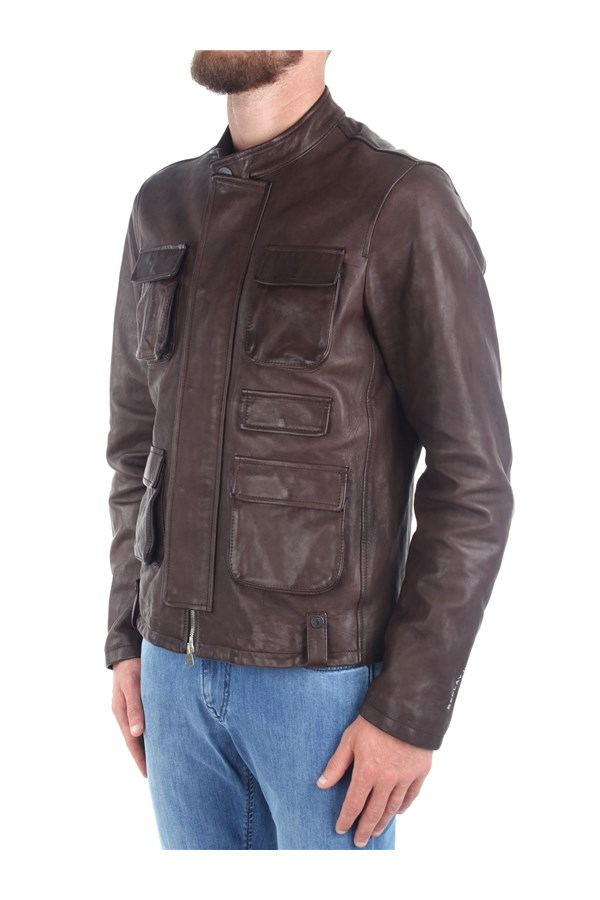 Replay Jackets And Jackets Brown