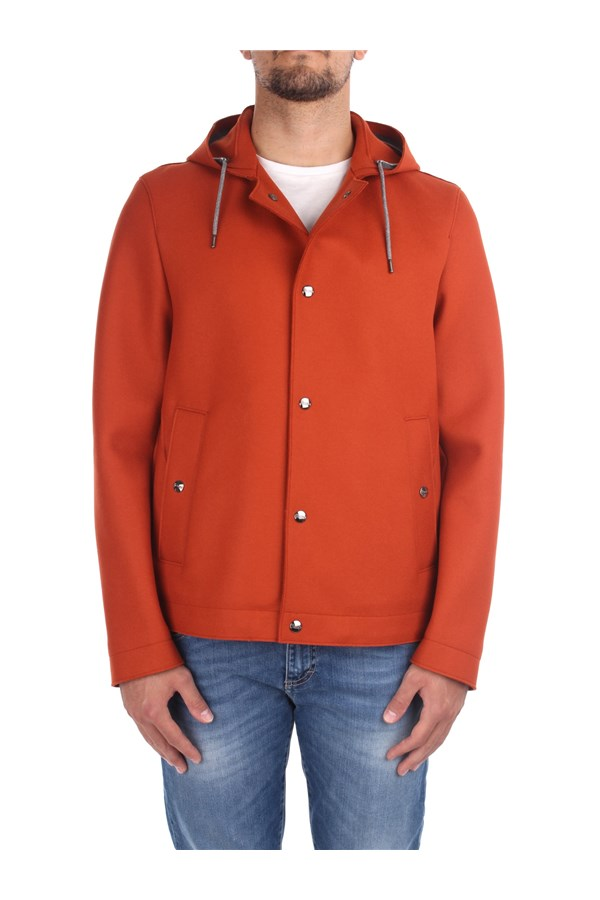 Herno Jackets And Jackets GI030UR 33256 Orange
