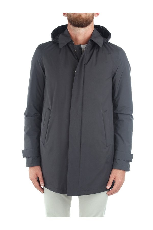 Herno raincoats Grey