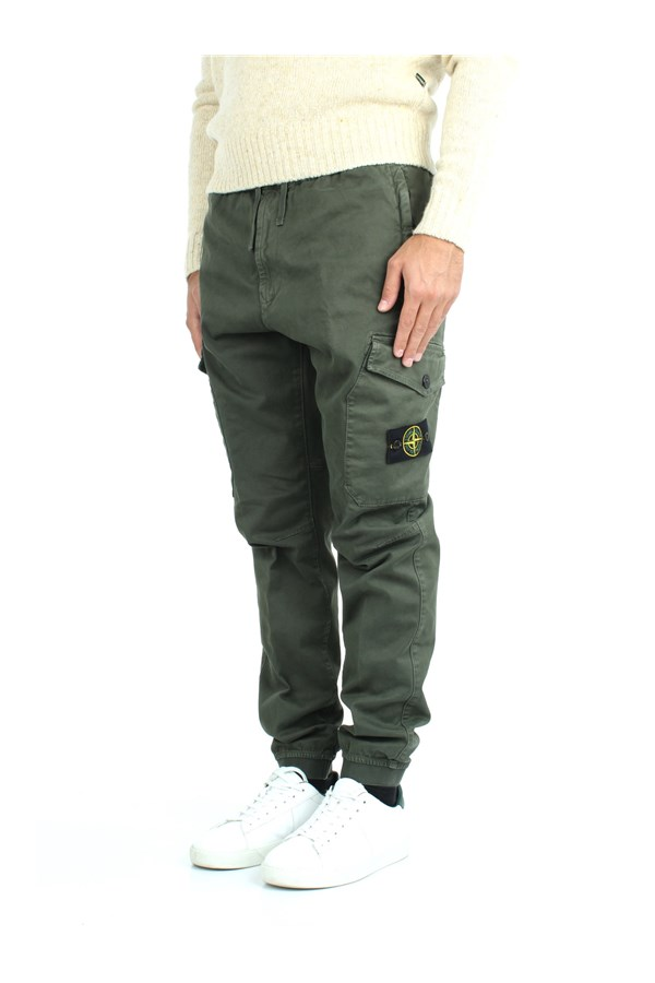 Stone Island Trousers Green