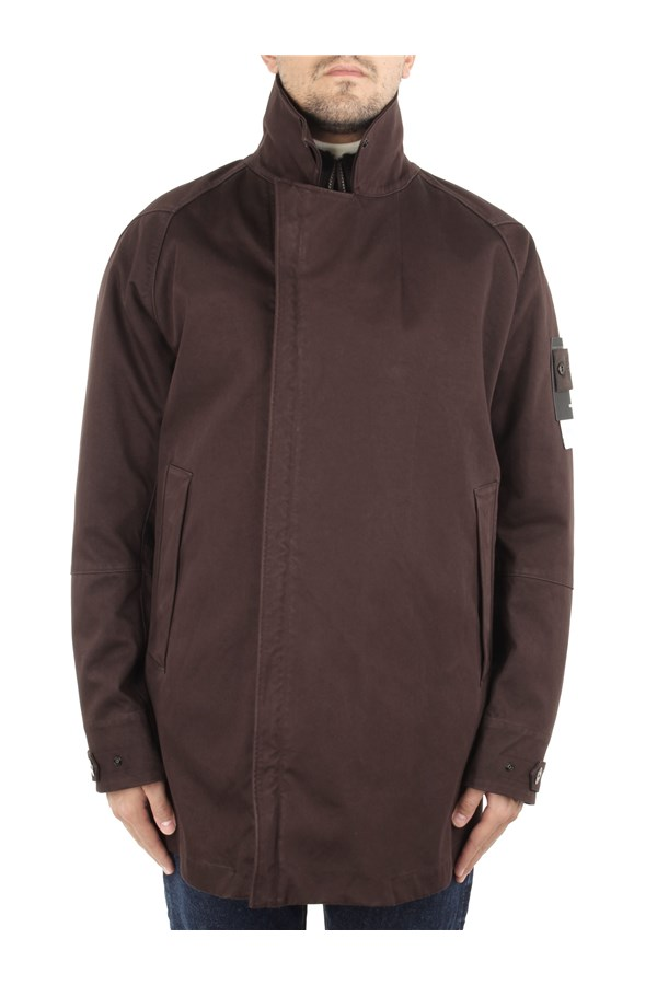 Stone Island Jackets Brown