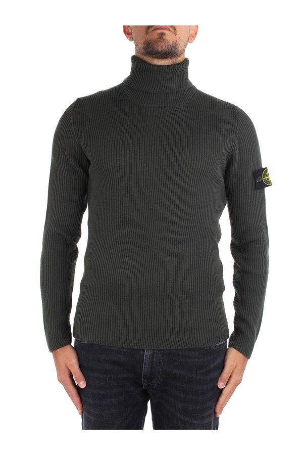 Stone Island High Neck  Green