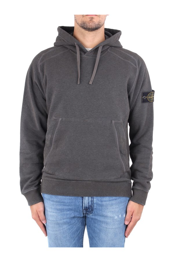 Stone Island Sweatshirts Brown