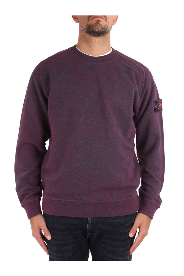 Stone Island Sweatshirts Red