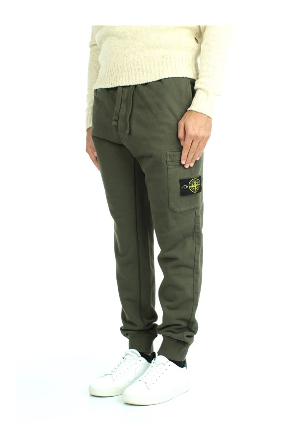 Stone Island Suit Pants Green