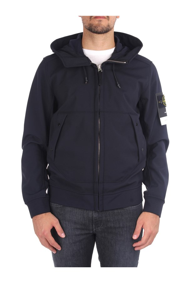 Stone Island Jackets And Jackets Blue