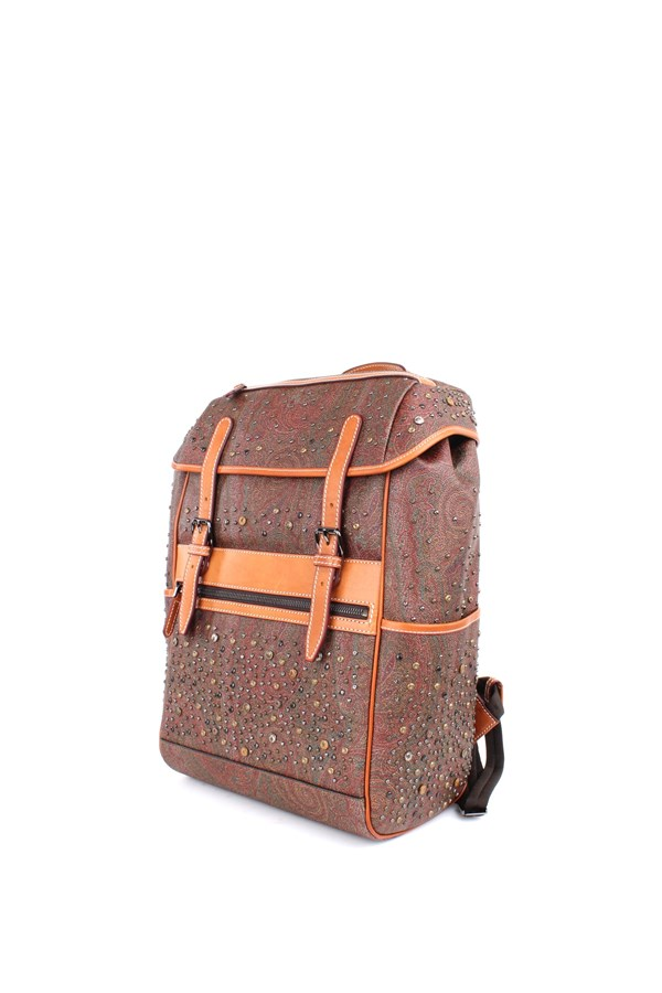 Etro Backpacks Multicolor