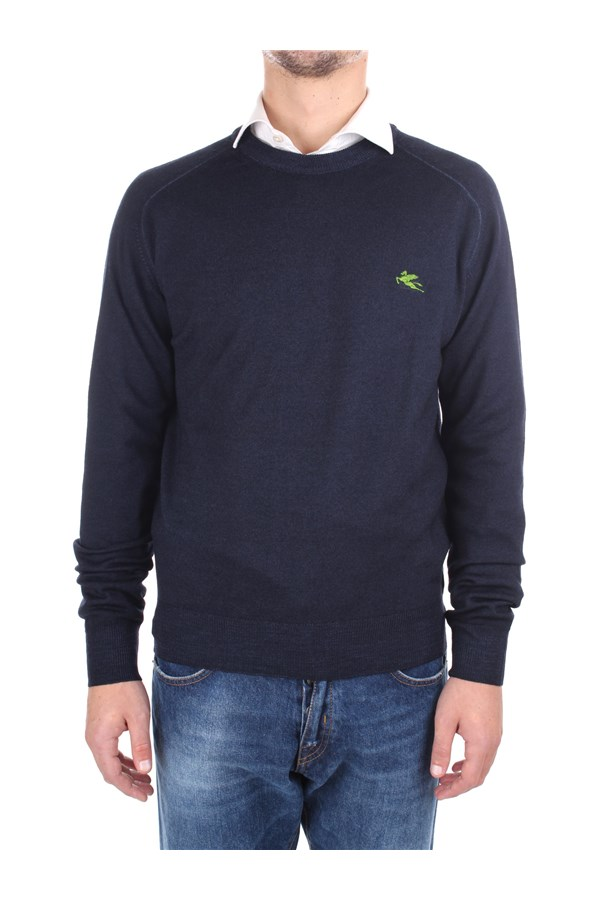 Etro Sweaters Blue