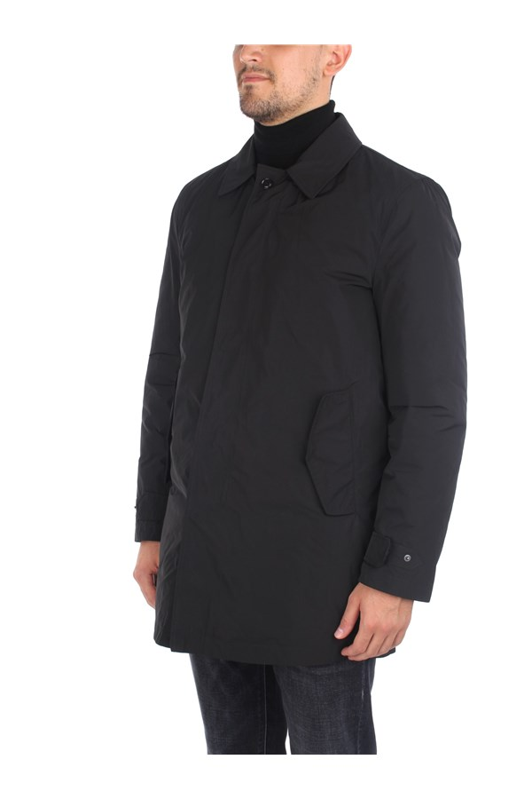 Aspesi raincoats Black