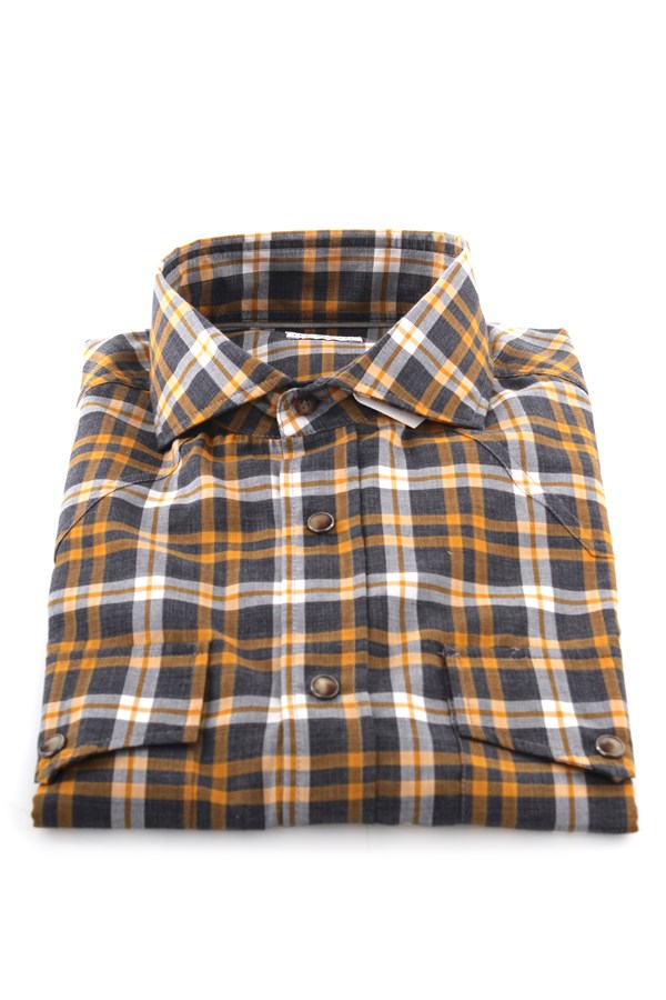 Brunello Cucinelli Shirts Multicolor