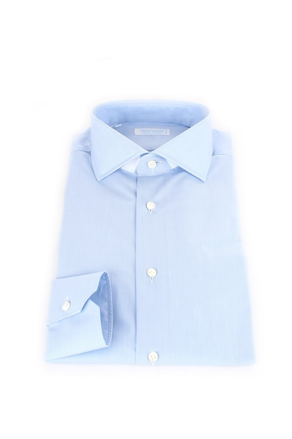 Camiceria Giampaolo Shirts Turquoise