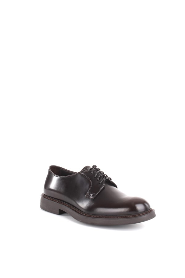 Doucal's lace-up shoes Brown