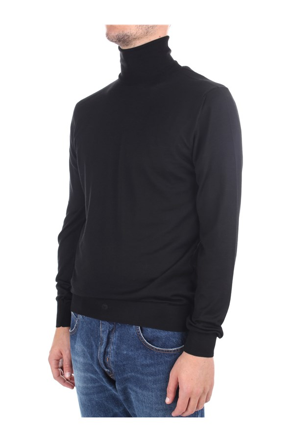 Drumohr High Neck  Black