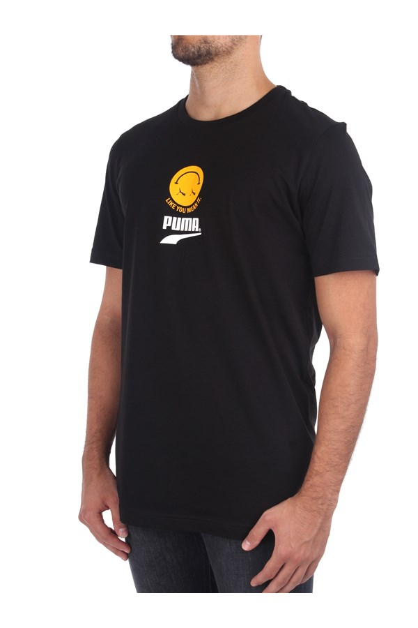 Puma Short sleeve Black