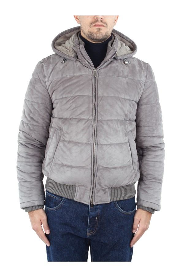 Enrico Mandelli Jackets And Jackets Grey