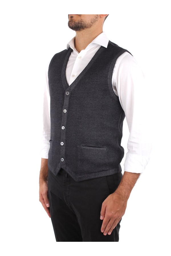 La Fileria Knitted vest Grey