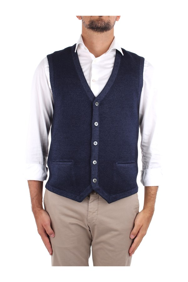 La Fileria Knitted vest Blue