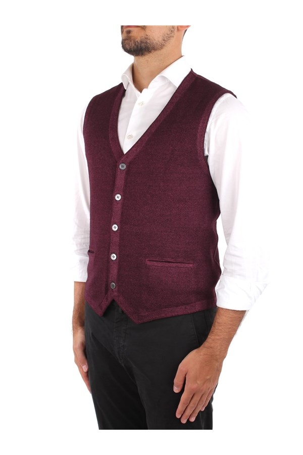 La Fileria Knitted vest Violet