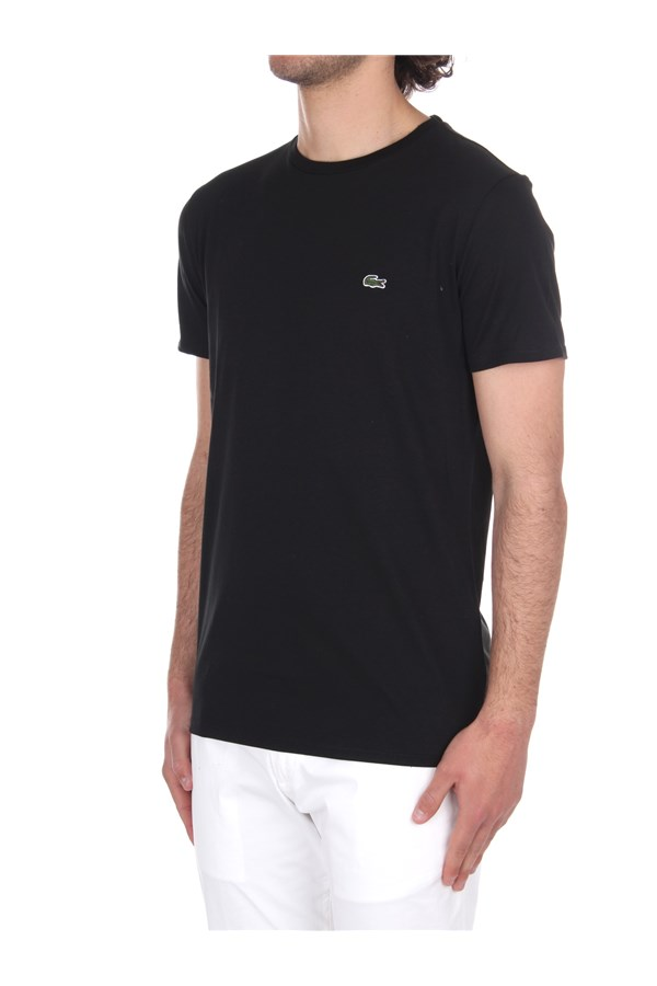 Lacoste Short sleeve Black