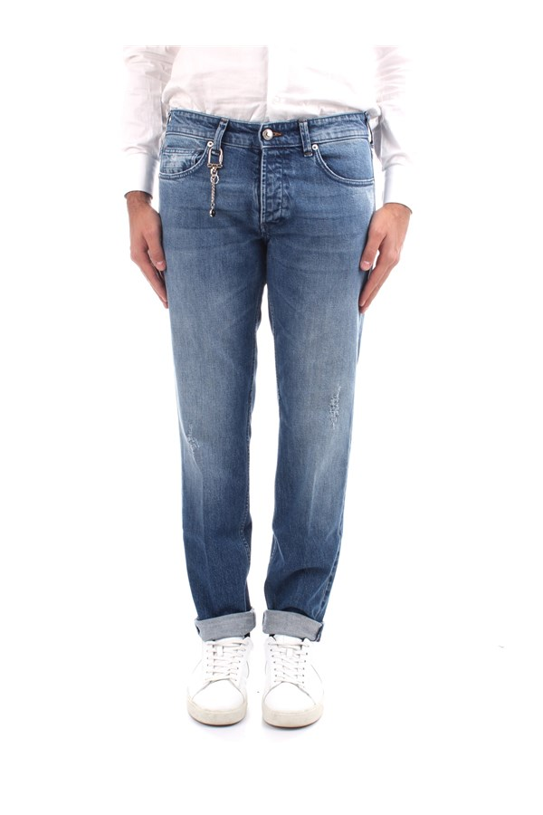 C+plus Jeans Slim Man PJ21265812687 BLUE 0