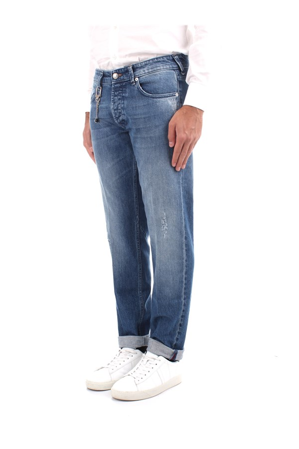 C+plus Jeans Slim Man PJ21265812687 BLUE 1