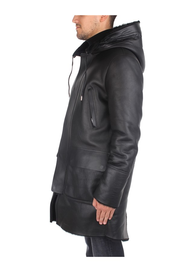 Desa Outerwear Leather Jackets Man K12448 2
