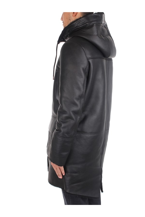 Desa Outerwear Leather Jackets Man K12448 3