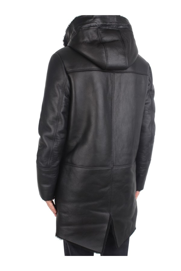 Desa Outerwear Leather Jackets Man K12448 4