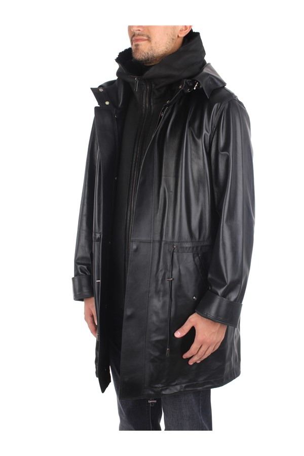 Desa Leather Jackets Black